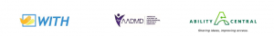 with aadmd ability central logos